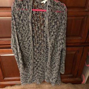 AE Cardigan Sweater, hardly worn, long, Medium